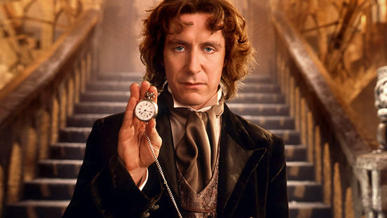 Paul McGann was the eighth Doctor