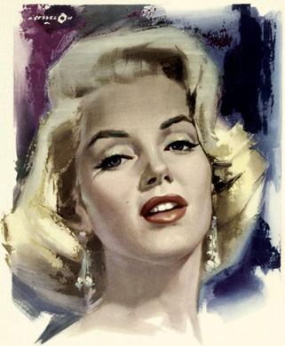 Marylin in Don't Bother To Knock